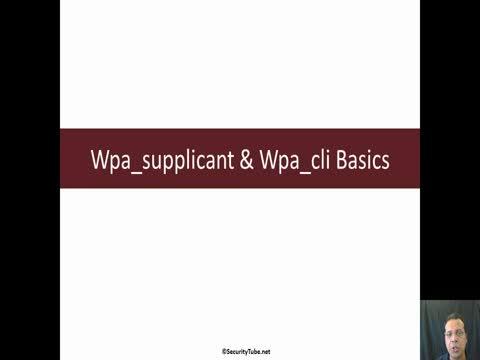 Wpa_supplicant & Wpa_Cli Basics