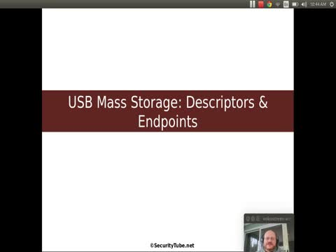 USB Mass Storage: Descriptors and Endpoints