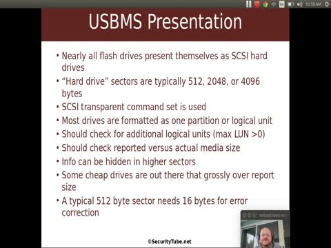 USB Mass Storage: Presentation