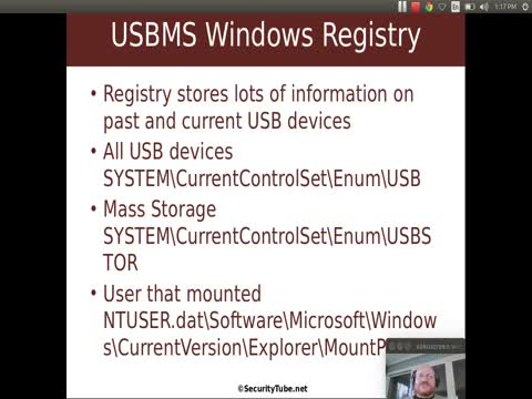 USB Mass Storage: Windows