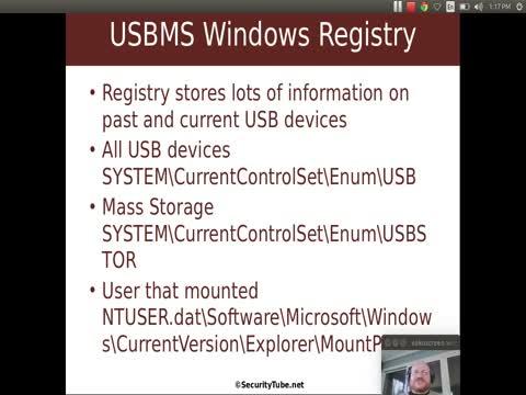 USB Mass Storage: Windows