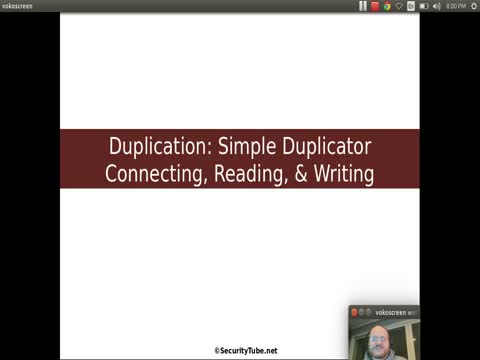 Duplication: Simple Duplicator - Connecting, Reading and Writing