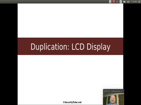 Duplication: LCD Displays