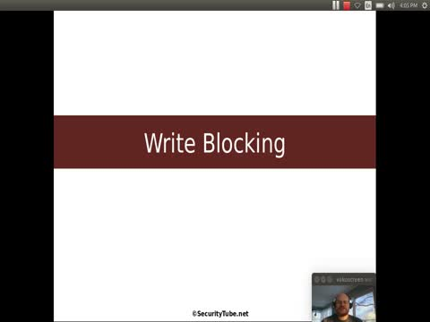 Write Blocking