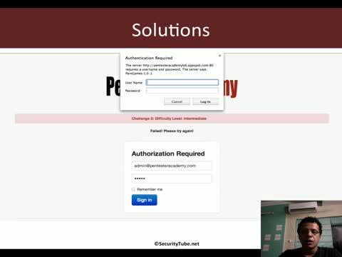 Challenge 2: HTTP Form Attacks Reloaded Solution