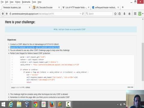 CSRF: Custom Code is Always a Target! (solution)