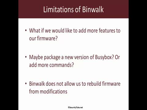 Firmware Extraction with Binwalk | Make your own Hacker Gadget
