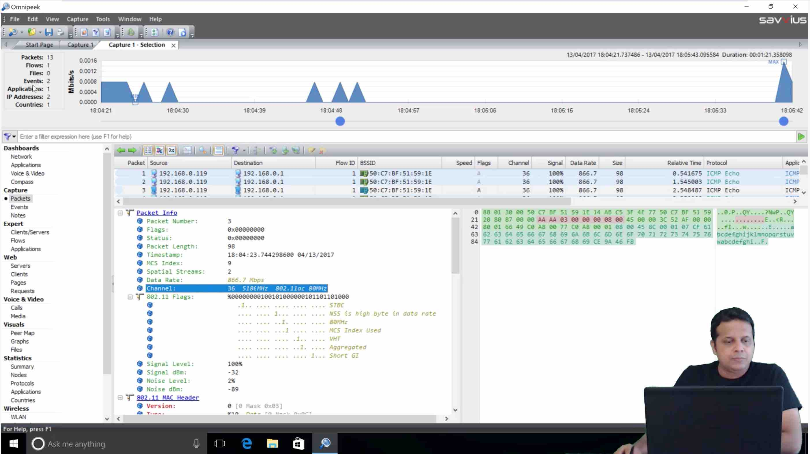 802.11ac Monitoring on Windows