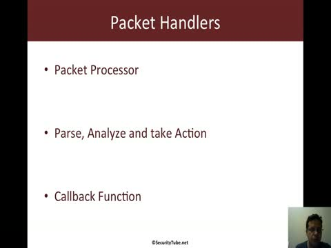Packet Handlers in Scapy