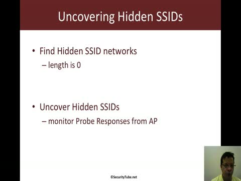 Scapy: Uncovering Hidden SSIDs